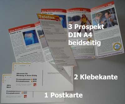 Der Selfmailer: Kostengünstig von der Postkarte zum DIN-A4 Prospekt